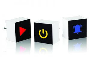 CTH Series LED-based touch sensor display