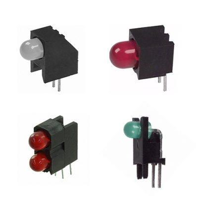 Right Angle Thru-hole PCB Mount LED Indicators