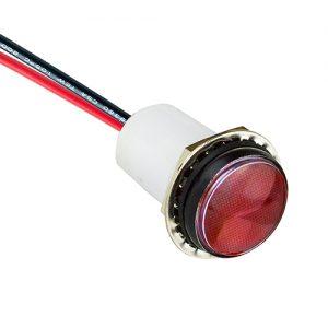 PML50 FV Red - IP67 Panel Mount Indicator