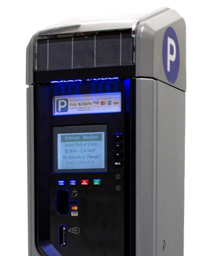 Smart Parking Meters with Flexible Light Pipe – Case Study