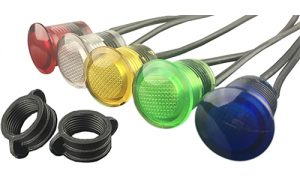 VCC Expands CNX Series LED Panel Mount Indicator Series to Include 120VAC Versions