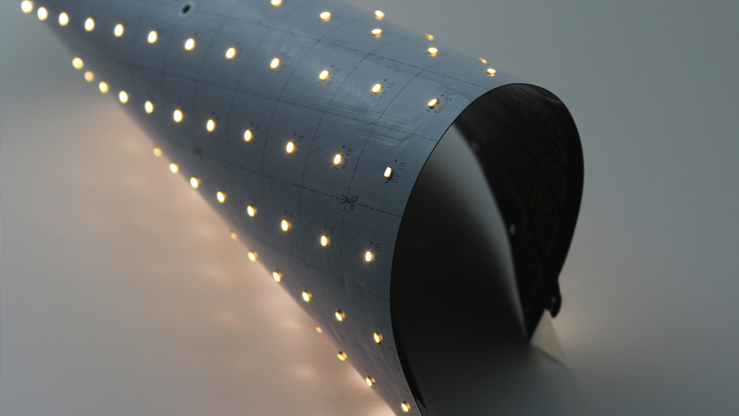 VentoFlex - Flexible Dimmable Modular Lighting System VCC
