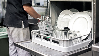 vcc pmi industrial dish washer