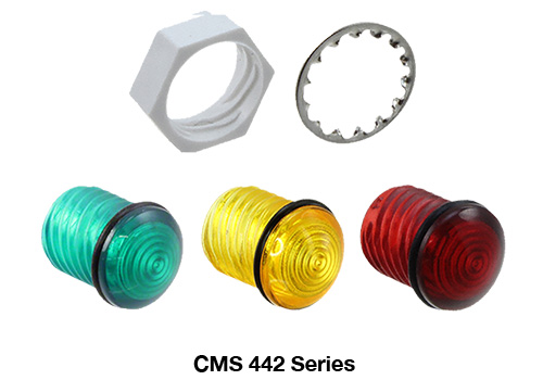 vcc led cms 442 Rugged construction and watertight seal