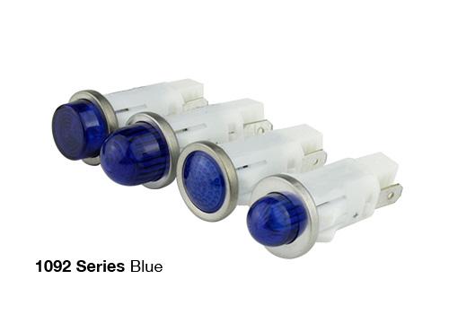 1092 blue led panel mount indicator