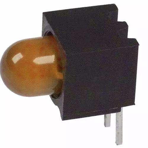 Cbi 5mm 1pos R Angle 12ma 12v Amber Vcc