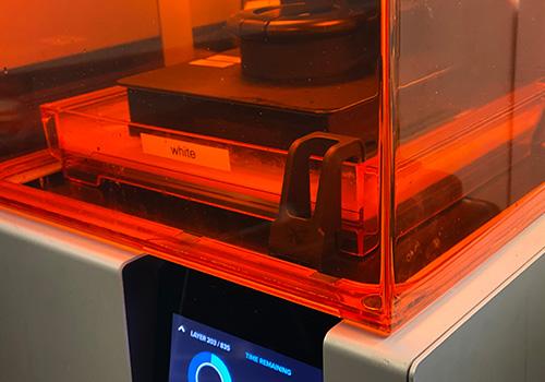 crisis collab 3D printer Prototype Custom Design VCC