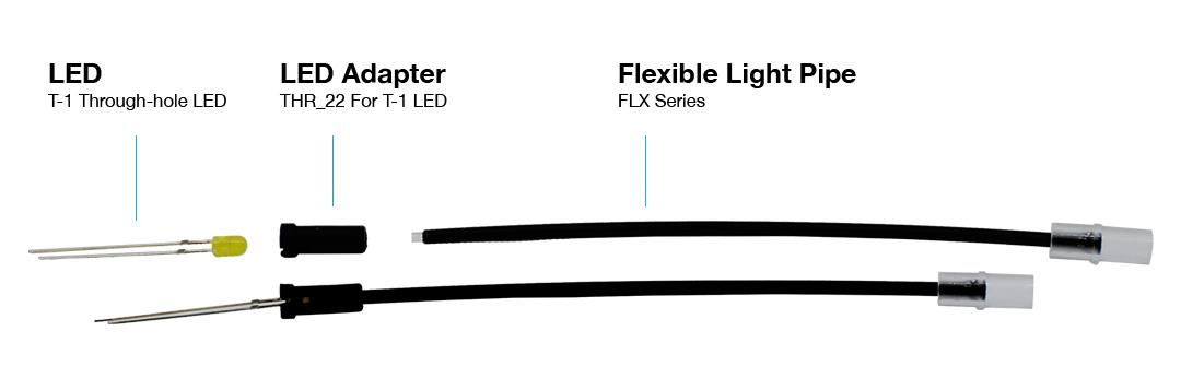 flexible light pipe