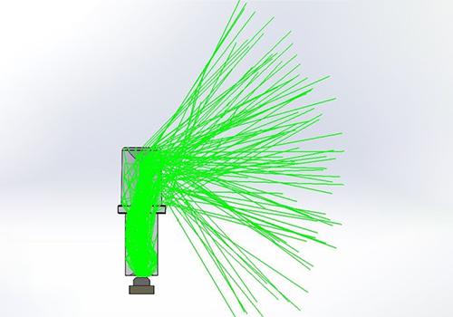vcc solar panel custom light pipe design