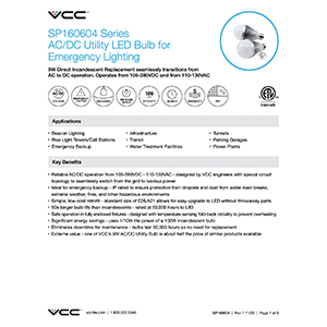 a21 emergency led bulb datasheet