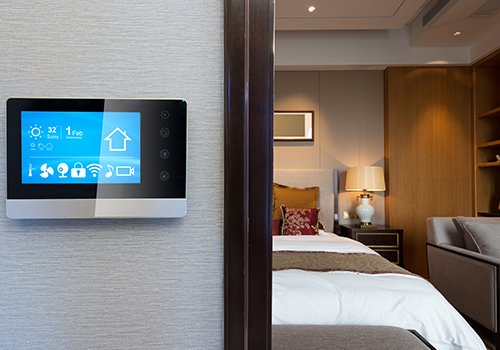 iot smart home connected thermostat